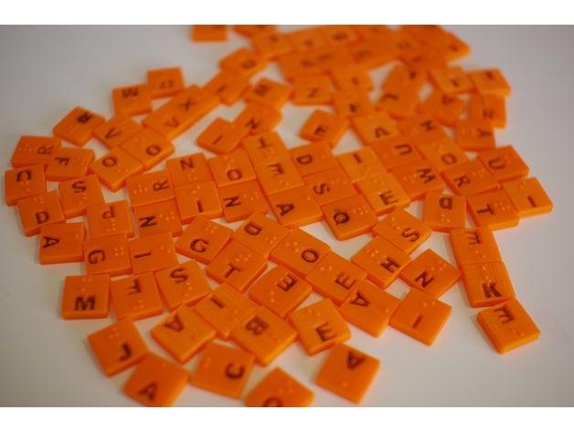 braille scrabble tiles 3d