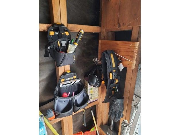 toughbuilt tool belt hang