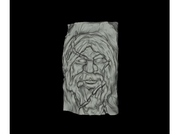 face stone 1 - cara en pi