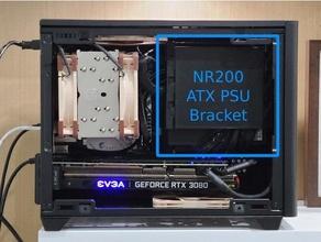 nr200 atx psu bracket atx atx mount atx power supply coolermaster cooler master nr200 nr200p