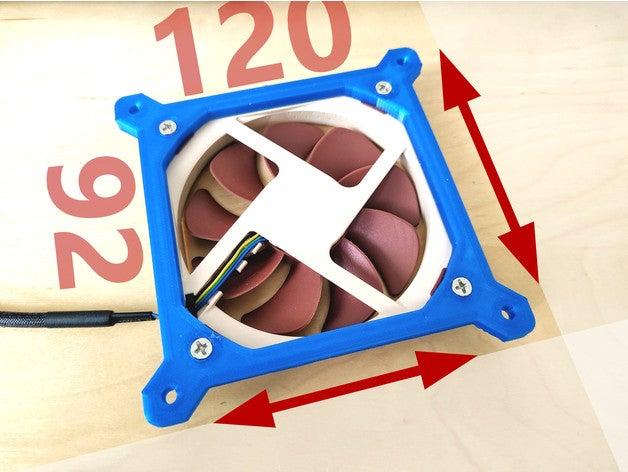 super fan adapter 120 92m