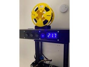 12v switch thermometer mount frame lack 12v 20mm ikea lack switch thermometer thermometer mount