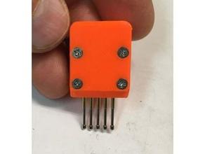 pogo-pin programming adaptor isc issp pogo pin pogo-pin tst pin