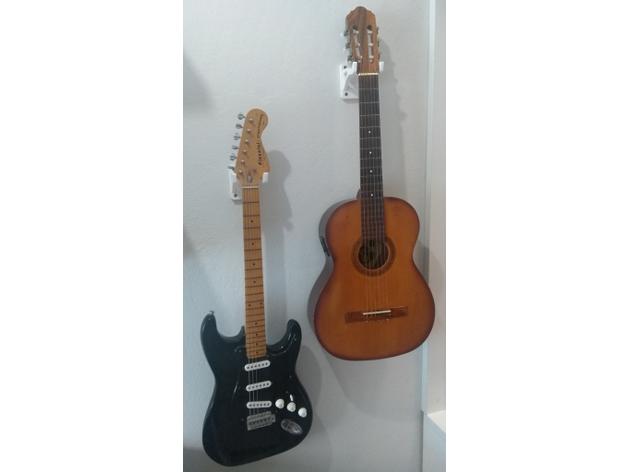 guitar wall mount eletric