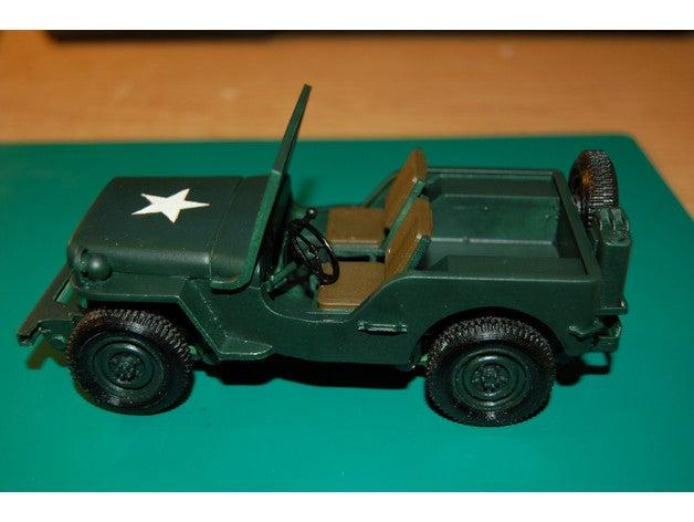 willys jeep ww2 1 23 scal