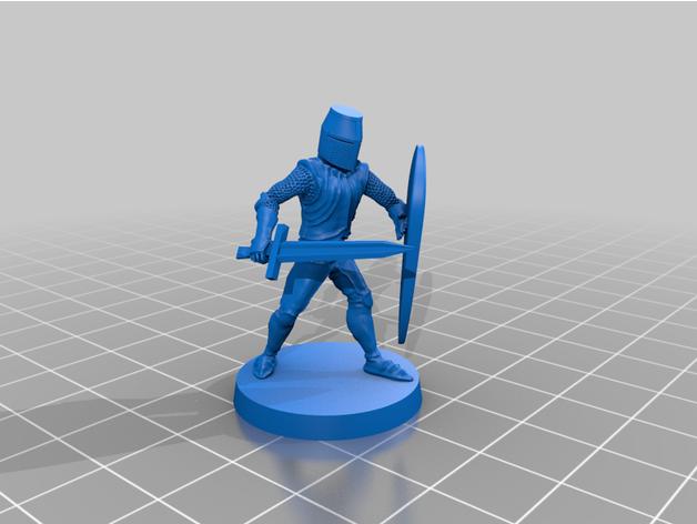 knight sword & shield dd