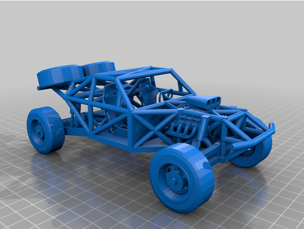 trophy truck chassis comp
