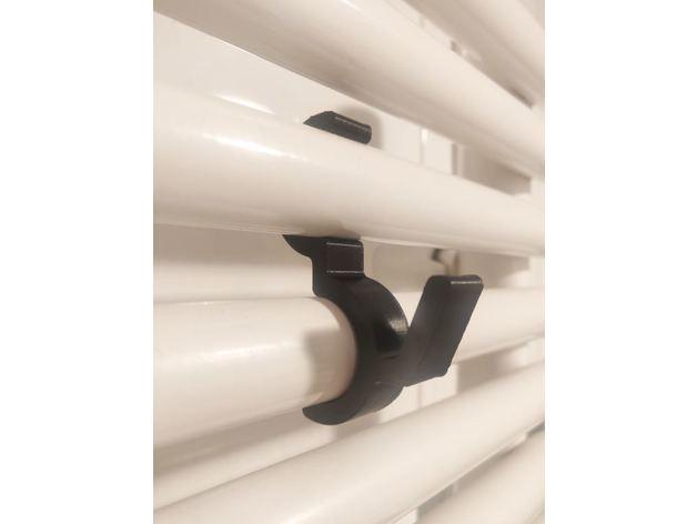 radiator towel clip hook