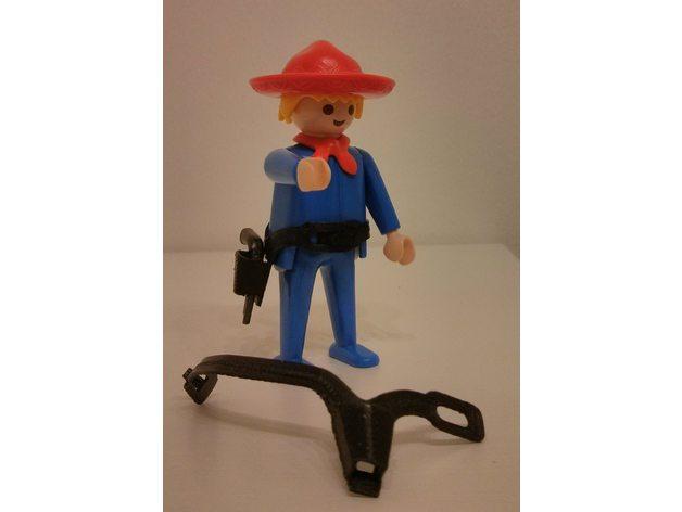 playmobil western gun bel