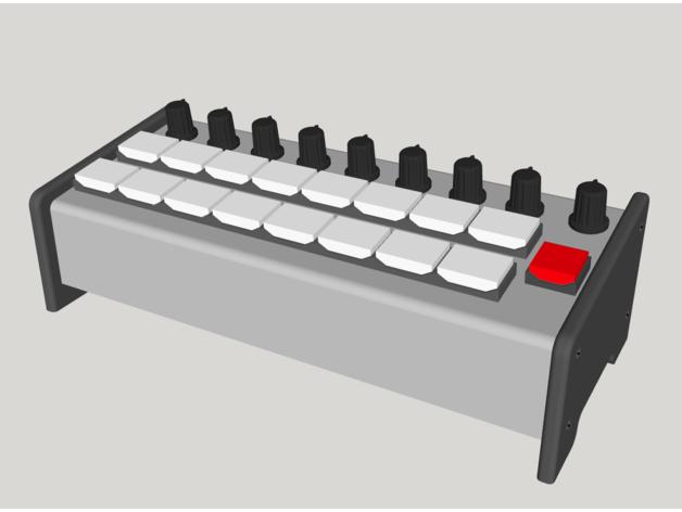 control surface 16+1 vmix