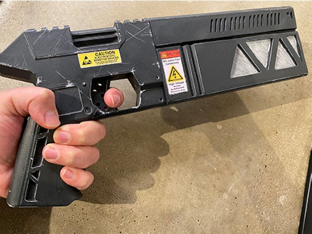 pistol railgun