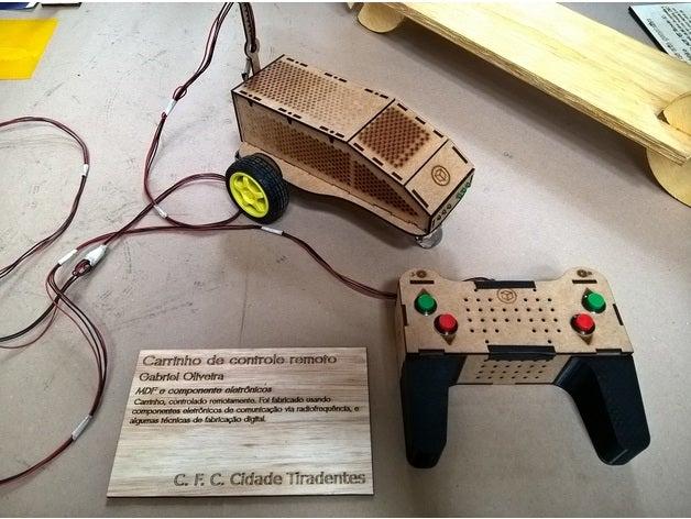 remote control cart laser
