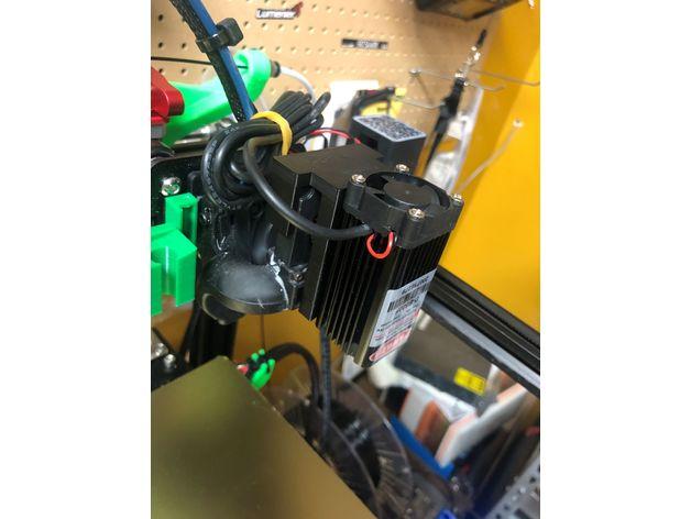 stock fan laser holder pe