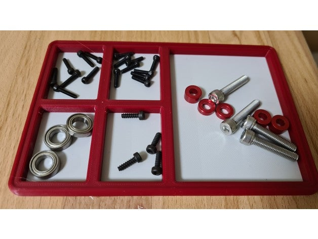 rc small parts tray fpv f