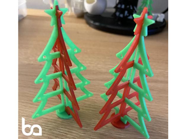 christmas tree slide-toge