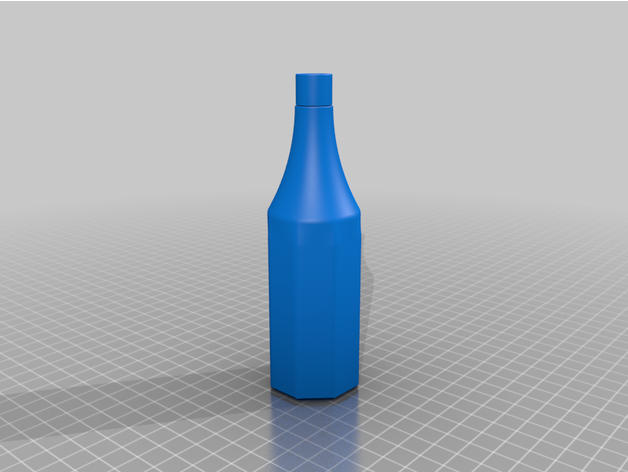 ketchup bottle container
