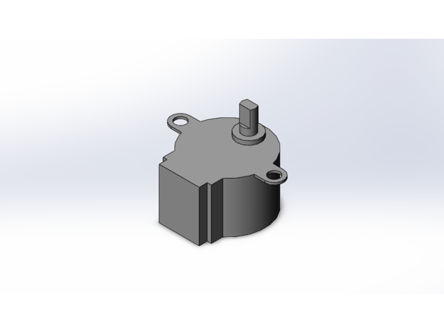 28byj-48 stepper motor mo