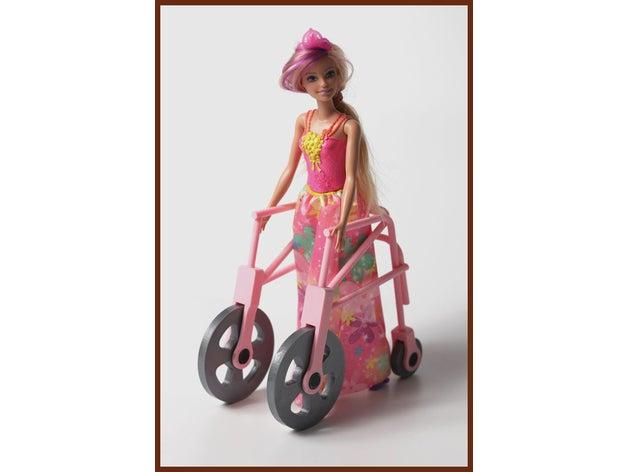 walker barbie disability
