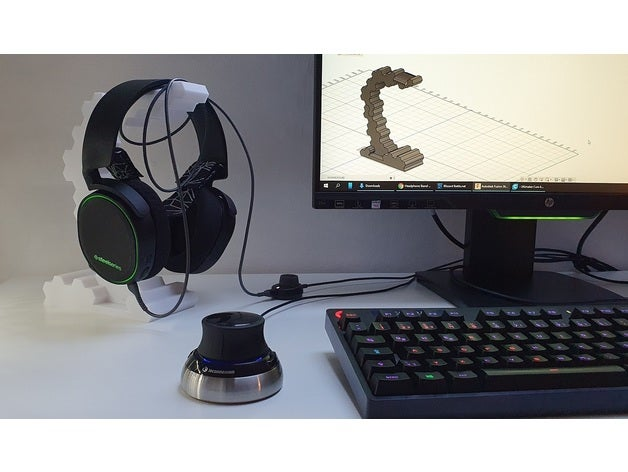 hex headphone stand headp