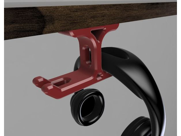 desk headphone holder hea