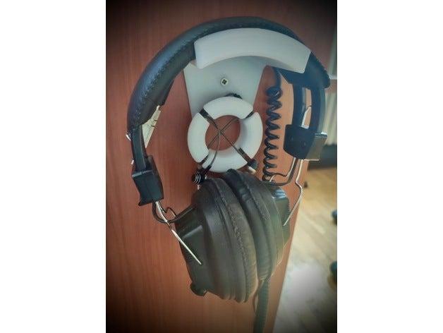 headphone stand desk desk