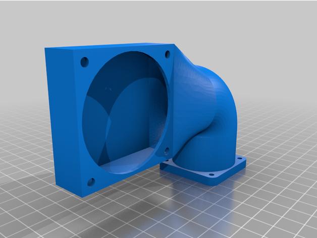 60mm silent fan adapter l