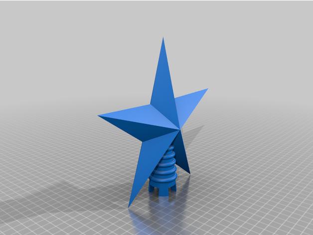 estrella para arbol navid