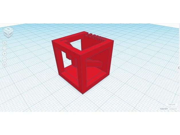 mini test cube