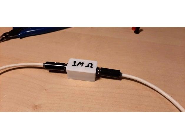 banana plug resistor box