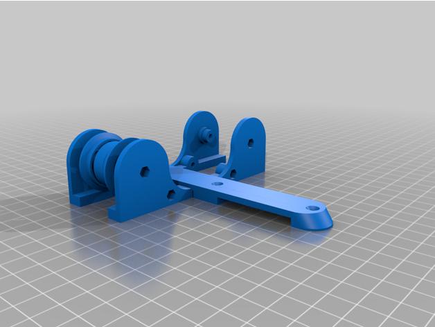 adjustable spool holder b