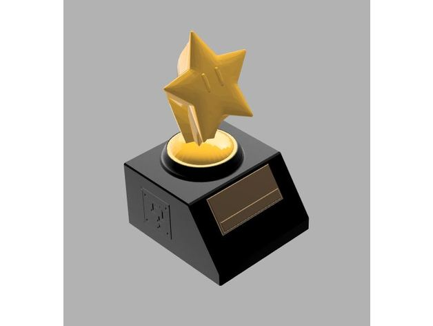 mariokart star trophy bas