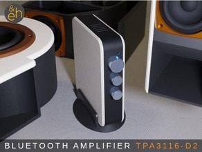bluetooth stereo amplifier 2x50w tpa3116d2 active amplificador amplificateur amplifier bass bluetooth box case control eh enclosure ender 3 hifi music musique passive phone radio receiver sound speaker stereo stereo streaming tpa3116 treble volume wifi wireless