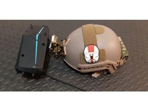 pimax wilcox nvg mount airsoft helmet mount nvg nvg mount pimax pimax 5k virtual reality wilcox