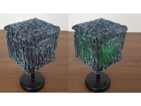 borg cube borg borg cube led light starship star trek