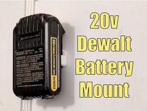 dewalt 20v battery wall mount holder - 20 volt lithium ion battery holder dewalt dewalt 20v dewalt 20v battery dewalt drill