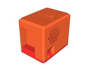 esp01 + dht modul case dht dht-22 dht11 dht22 esp01 esp8266 temperature temperature sensor