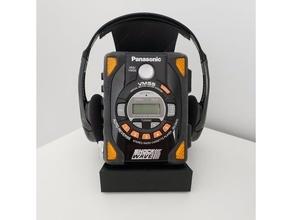 walkman display stand casette player cassette display stand panasonic retro shockwave sony walkman stand walkman