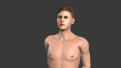 beautiful man -3d character art 3D printing model, 3D printing file, 3D printable model, 3D printing design, 3d print, pbr, character, skeleton, rigged, unreal, engine, t, walk, animated, unity, man, guy, woman, person, young, body, people, pose, male