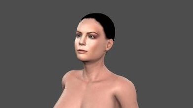 beautiful woman - 3d character art 3D printing model, 3D printing file, 3D printable model, 3D printing design, 3d print, pbr, character, skeleton, rigged, unreal, engine, t, walk, animated, unity, man, guy, woman, person, young, body, people, pose, male