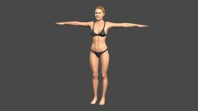 beautiful woman -rigged 3d character art 3D printing model, 3D printing file, 3D printable model, 3D printing design, 3d print, pbr, character, skeleton, rigged, unreal, engine, t, walk, animated, unity, man, guy, woman, person, young, body, people, pose, male