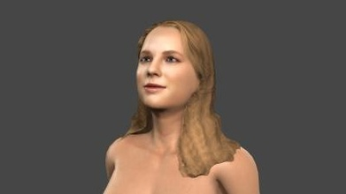 beautiful woman 9 rigged 3d character art 3D printing model, 3D printing file, 3D printable model, 3D printing design, 3d print, pbr, character, skeleton, rigged, unreal, engine, t, walk, animated, unity, man, guy, woman, person, young, body, people, pose, male