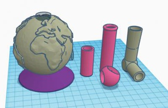 bong globe other things 3D printing model, 3D printing file, 3D printable model, 3D printing design, 3d print, Bong, pipes, Smoking, smoking pipes, 3d printed bong, smoking accessories