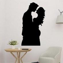couple embrassé 2d décor art 3D impression modèle 3D impression fichier 3D imprimable modèle 3D impression conception 3d impression décoration tué Accueil maison décor art vélentine cœur