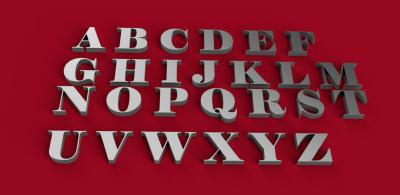 elephant font uppercase 3d letters stl file toys games & hobby 3D printing model, 3D printing file, 3D printable model, 3D printing design, 3d print, The zip file contains all the lowercase letters written with the VLADIMIR font individually saved each as a stl file plus a stl file containing the entire alphabet  The Alphabetstl file containing the entire alphabet was created and printed with an Ender3, it can happen that, for the Delta printers, the image is too big, in this case the dimensions can be scaled  Have fun and good 3D printing!!!!
