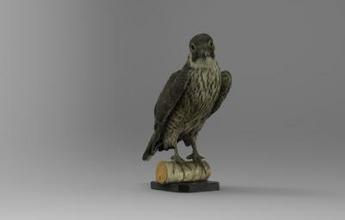 falco peregrinus peregrine falcon nature 3D printing model, 3D printing file, 3D printable model, 3D printing design, 3d print, Falco, peregrinus, Peregrine, falcon, bird, animal, nature