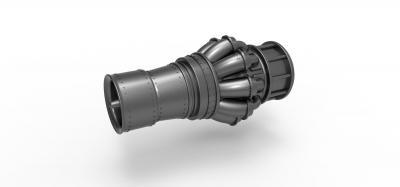 jet engine key fob  3D printing model, 3D printing file, 3D printable model, 3D printing design, 3d print, keychain, fob, keyfob, keyring, print, SLA, SLAprint, printable, toy, engine, jet, rocket, space,