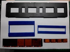 kleinbild negativscanner einsatz toys games & hobby 3D printing model, 3D printing file, 3D printable model, 3D printing design, 3d print, Photo, foto, bilder, pic, adapter, negativ, scanner, filmstrip, film negative, Negative, Holder, Kleinbildnegative, negative, 14mm, small, picture, kleinbild streifen, kodak, kodac, kleinstbild, 16 mm, halbformat, 24 din, 200 asa, Harman Technology, Eastman Kodak, Adox,deutschland, Astrum LLC, Ukraine, Schwarzweiß- und Farbfilme, China, Lucky Film, Fujifilm, Japan, FilmoTec, Deutschland, Foma, Tschechien, Impossible, Österreich, Sofortbildfilme, Ilford, Großbritannien, USA, Shantou ERA Film