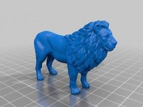 Lion art 3D impression modèle 3D impression fichier 3D imprimable modèle 3D impression conception 3d impression Lion 3d modèle