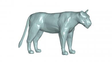 Lion 3d modèle 3D impression modèle 3D impression fichier 3D imprimable modèle 3D impression conception 3d impression Lion 3d modèle