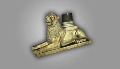 león de la decoración de la columna art 3D modelo de impresión, la impresión en 3D de archivo, 3D imprimibles modelo 3D, diseño de impresión, la impresión 3d, de león, de Decoración, de Columna, de diseño, de Alexander Nevski, la Catedral, Sofía